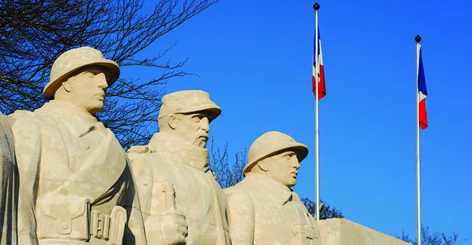 Commémoration du centenaire de la Première guerre mondiale à Cachan