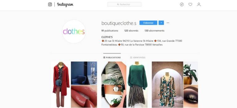 Saint-Maur-des-Fossés : Clothes crée ses looks sur Instagram