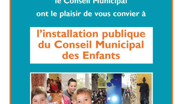 Installation du Conseil Municipal des Enfants au Plessis-Trévise