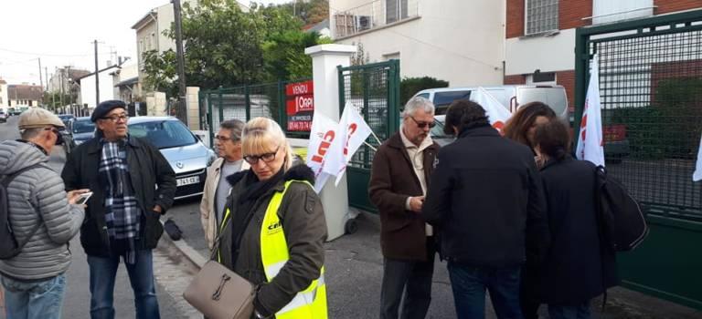 La justice suspend une expulsion à Villejuif avant la trêve hivernale