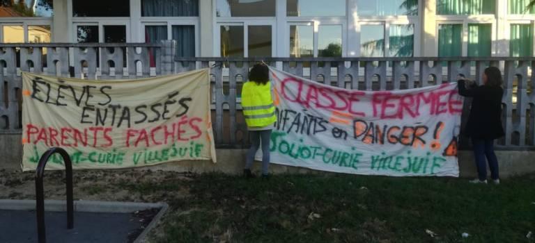 A Villejuif, la maternelle Joliot-Curie mobilisée pour sa 10ème classe