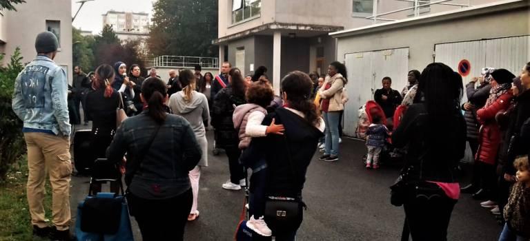 A Villejuif, la mobilisation s'amplifie à l'école Paul Vaillant-Couturier