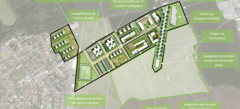 Noiseau : l'agro-quartier économique télescopé par le projet de prison