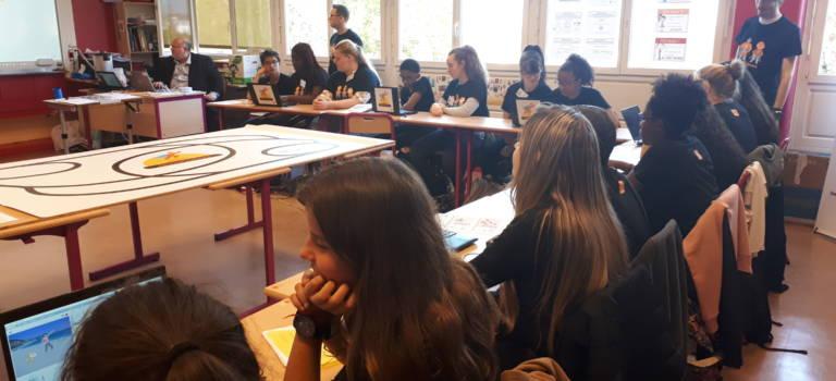 Sucy-en-Brie : les collégiens découvrent les merveilles du code informatique