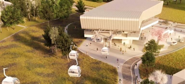 Câble A -Téléval: avis favorable pour le premier téléphérique d'Ile-de-France