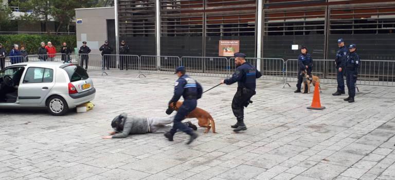 Villejuif sort le grand jeu pour inaugurer son poste de police municipale