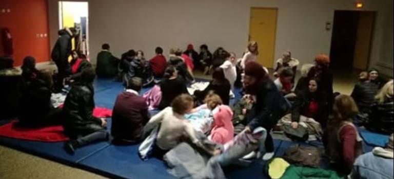 Blocage du collège Perrin au Kremlin-Bicêtre : pas de cours mais un dortoir