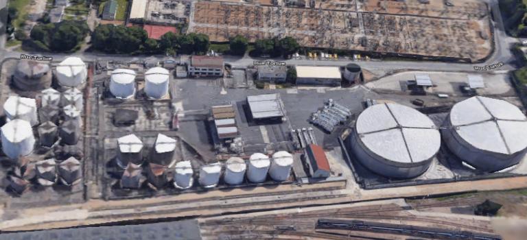Simulation d'accident ce mercredi au dépôt pétrolier de Vitry-sur-Seine