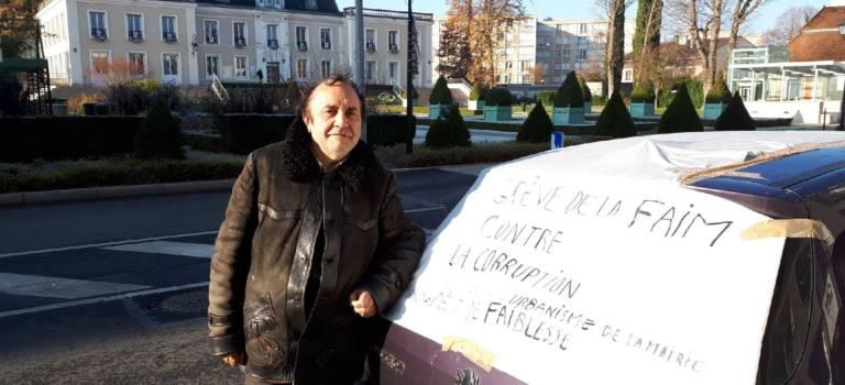 Au Plessis-Trévise, la saga du bois Marbeau vire en grève de la faim