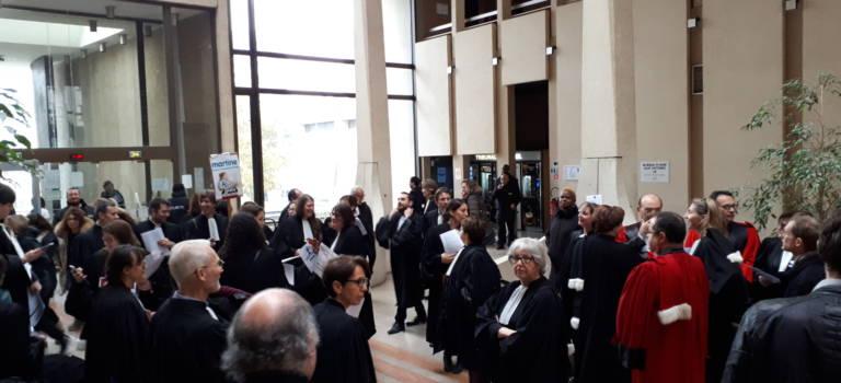 A Créteil, juges, avocats et greffiers alarmés par la réforme de la Justice