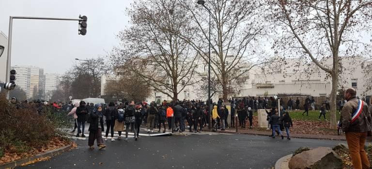 Le point sur le mouvement lycéen en Val-de-Marne
