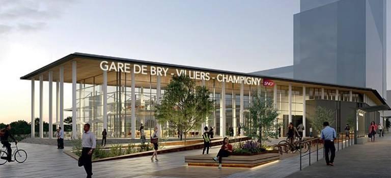 La gare Bry-Villiers-Champigny déclarée d'utilité publique
