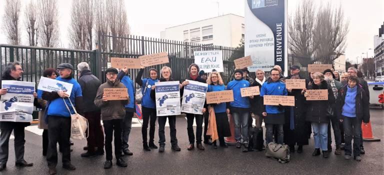 Choisy-le-Roi : manif de gilets bleus contre l'exclusion d'Est Ensemble par le Sedif