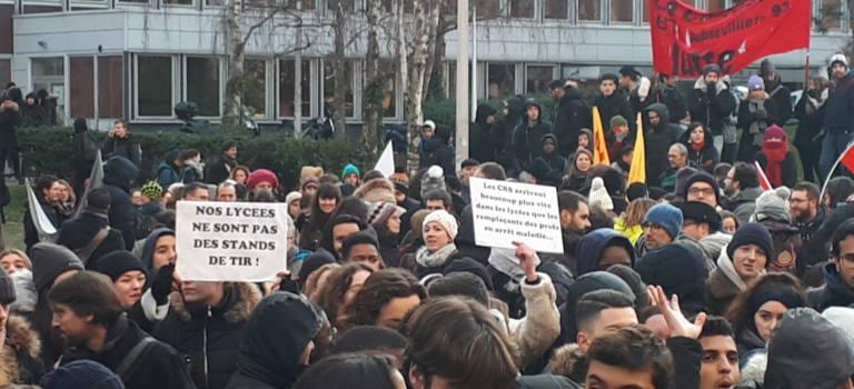 La FCPE 94 alerte le recteur sur la répression du mouvement lycéen
