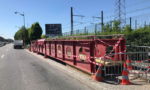 La passerelle de Villeneuve-Triage enfin retirée de la RN6