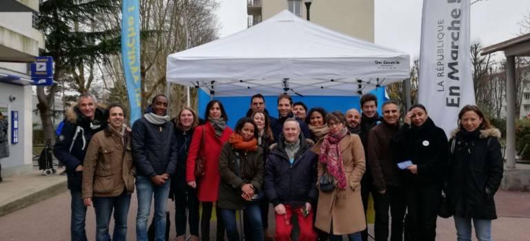 Val-de-Marne : La République en Marche prend le pouls des habitants