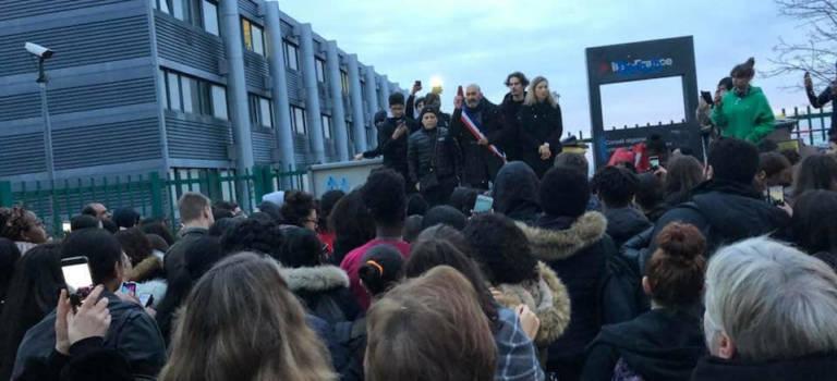 Indignation générale après la garde à vue des lycéens d'Ivry-sur-Seine