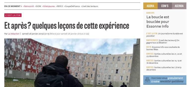 Essonne Info : la fin d'une belle aventure
