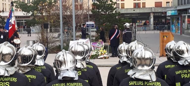 Bel hommage à Choisy-le-Roi pour le pompier Jonathan Lassus-David