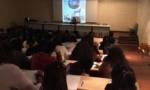 Leçon de littérature avec Cloé Korman au lycée Saint-Exupéry de Créteil