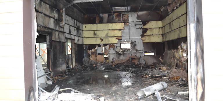 Consternation après l'incendie du centre de loisirs à Ormesson-sur-Marne