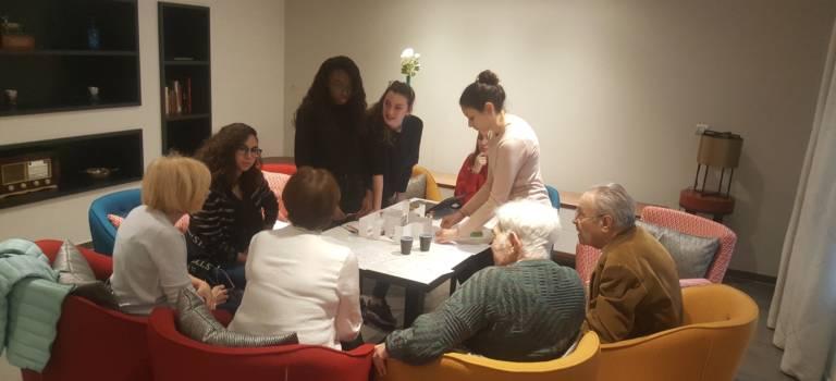 A Saint-Mandé, des étudiants ergonomes ont planché sur le confort des retraités