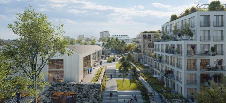 Champigny-sur-Marne : Altaréa-Cogedim développe un quartier mixte en place de l'ex-projet de mall Apsys