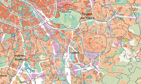La croissance urbaine ralentit en Île-de-France