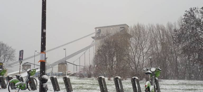 Alerte orange neige-verglas en Val-de-Marne