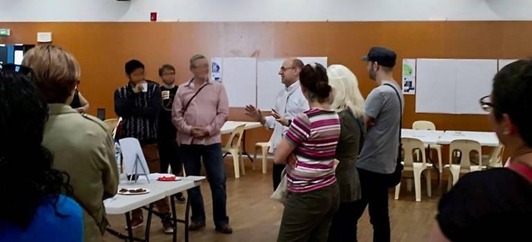 Exposition participative des élus de gauche à Villiers-sur-Marne