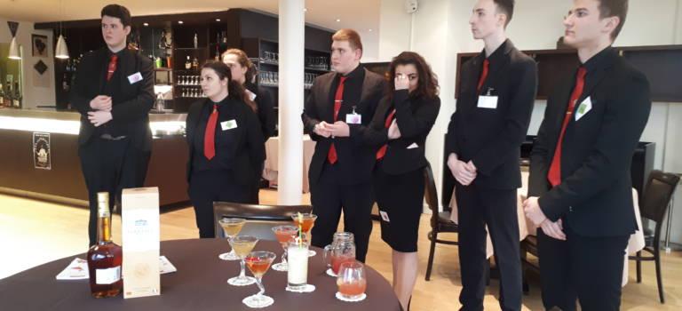 Sucy-en-Brie : le lycée hôtelier Montaleau défie l'élite des barmans
