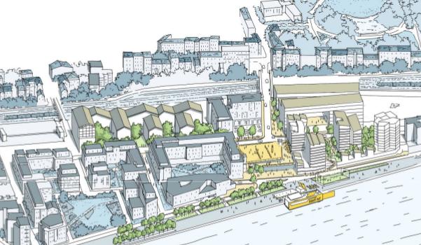 La transformation du quartier du Port à Choisy achevée à l'horizon 2024