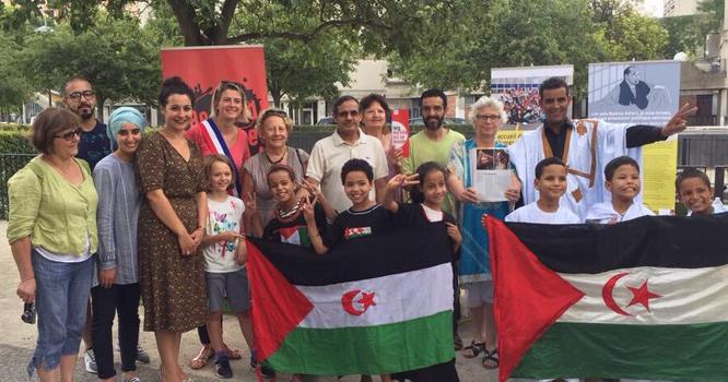 Une délégation d'Ivry-sur-Seine dans des camps de réfugiés sahraoui