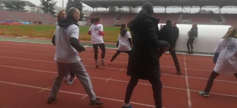 Créteil : les élèves ont lancé la semaine olympique et paralympique
