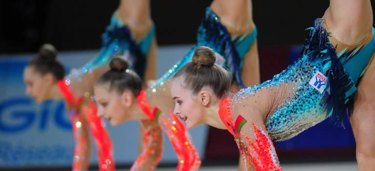 Thiais : les Internationaux de gymnastique rythmique en piste