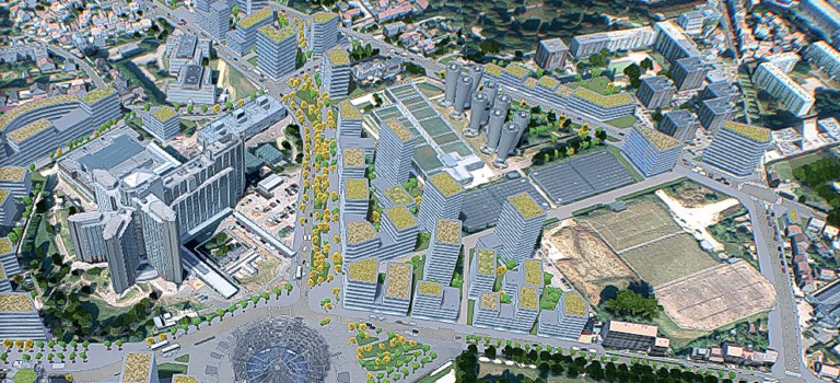 Campus parc à Villejuif : Sadev94 lance la commercialisation d'un lot résidentiel