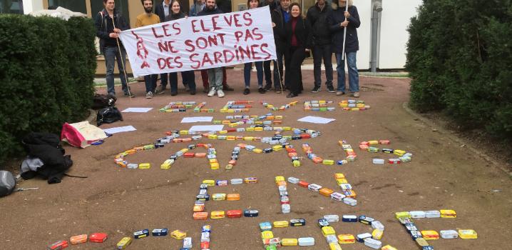 Le Plessis-Trévise : opération sardines originale au collège Camus