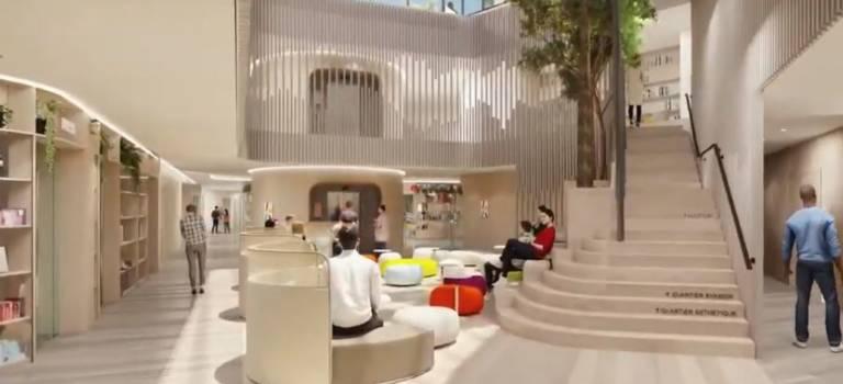 A Villejuif, l'hôpital Gustave Roussy dévoile son extension et ses lauréats