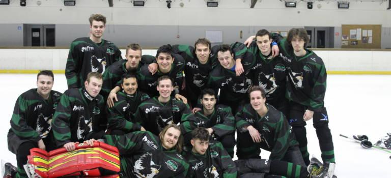 Hock'Efrei à Villejuif:  la première équipe universitaire de hockey sur glace