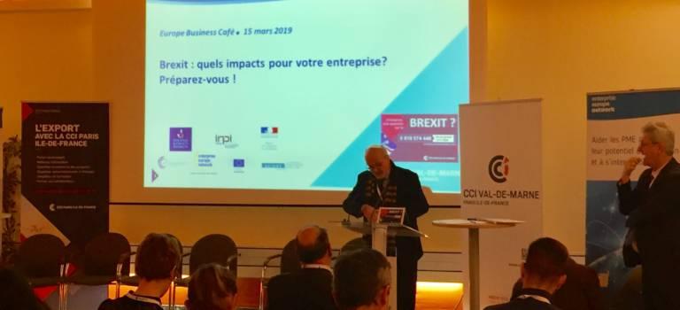 La CCI prépare les entreprises du Val-de-Marne au Brexit