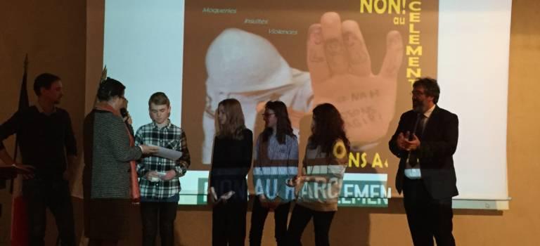 Lutte contre le harcèlement scolaire : les élèves de l'académie de Créteil primés