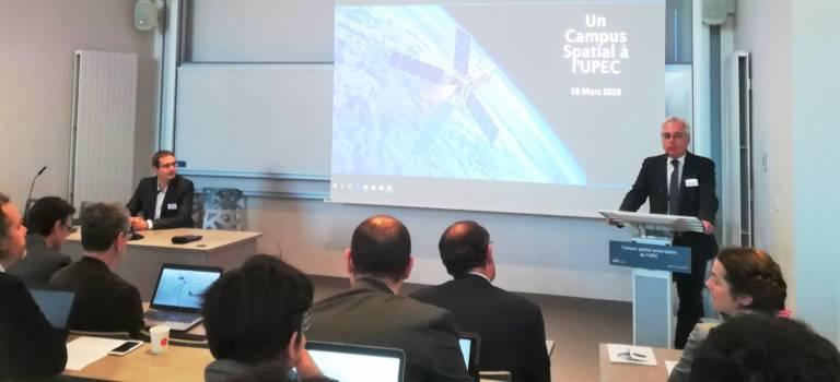 L'université de Créteil (Upec) vise les étoiles avec son campus spatial