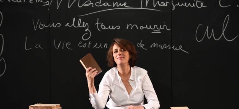 Stéphanie Bataille joue «Madame Marguerite» à Thiais