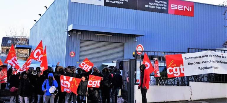 Travailleurs sans papiers: accord et fin de blocage à la Seni Gentilly