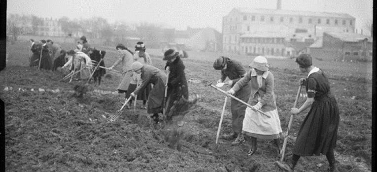Les femmes et la première guerre mondiale