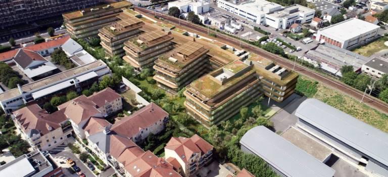 A Fontenay-sous-Bois, Primonial Reim achète l'immeuble Sakura loué à la Société générale