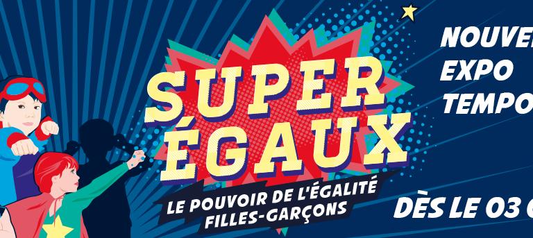 Ateliexpo Super-égaux : filles, garçons, quelle différence ? à Vitry-sur-Seine