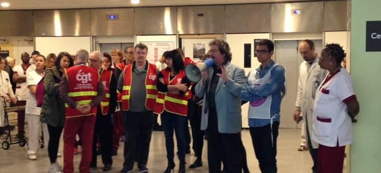 La privatisation du nettoyage inquiète les agents de l'hôpital de Villeneuve-Saint-Georges