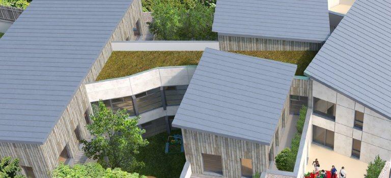 Première pierre pour l'extension-reconstruction de la crèche départementale d'Orly