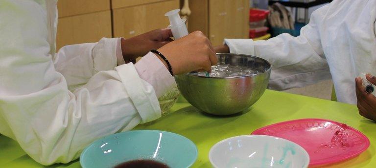 Atelier Cuisine moléculaire à l'Exploradôme de Vitry-sur-Seine